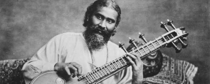Pir-o-Murshid Hazrat Inayat Khan with Vina